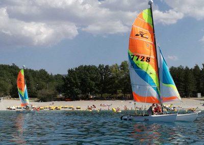Activites nautique au Lac de Sainte Croix - Catamaran