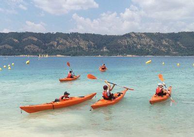 Activites nautique au Lac de Sainte Croix - Kayak