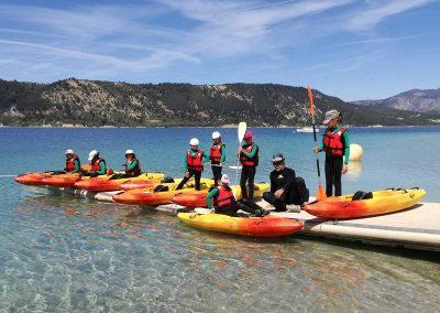 Activites nautique au Lac de Sainte Croix - préparer Kayak SX 230