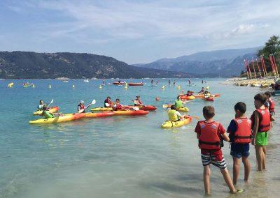 Activites nautique au Lac de Sainte Croix - Kayak Polo