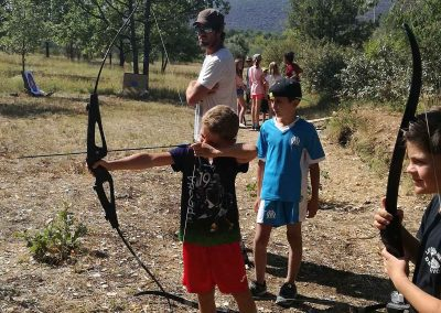 Activites terrestre au Parc du Verdon - Tir à l'arc